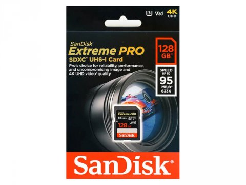 SANDISK SDXC 128GB SDSDXXG-128G-GN4IN