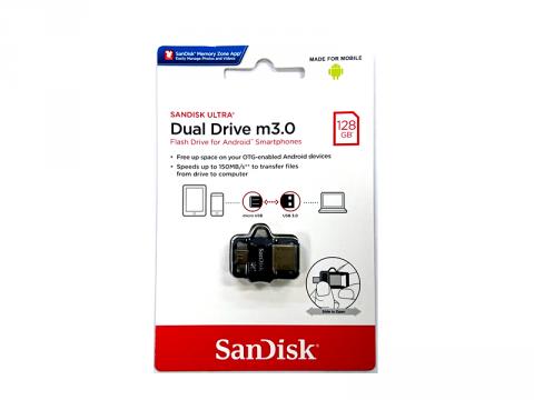 SANDISK USB Flash 128GB SDDD3-128G-G46