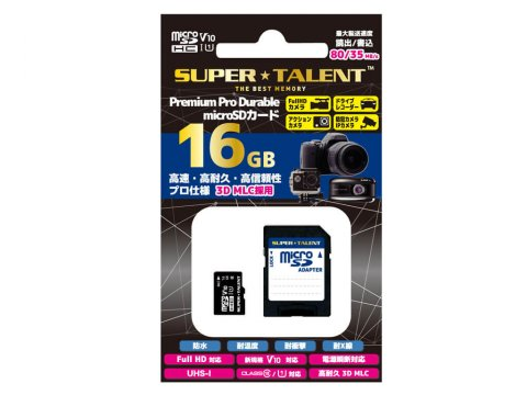 SuperTalent MicroSDHC 16GB ST16MSU1PD