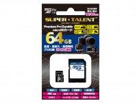 SuperTalent MicroSDXC 64GB ST64MSU3PD
