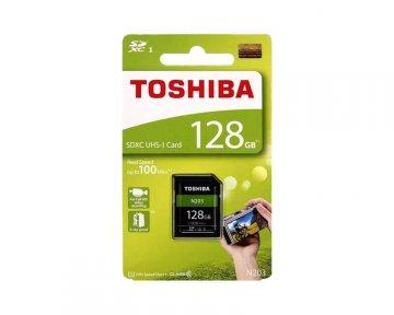 TOSHIBA SDXC Card 128GB THN-N203N1280A4 01 モバイル フラッシュメモリー SDXCカード