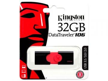 Kingston USB Flash Memory DT106/32GB 01 モバイル フラッシュメモリー USBメモリー