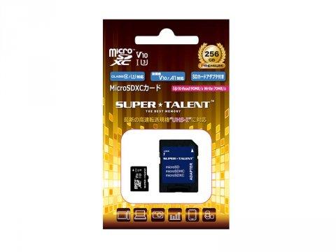 SuperTalent MicroSDXC 256GB ST56MSU1P