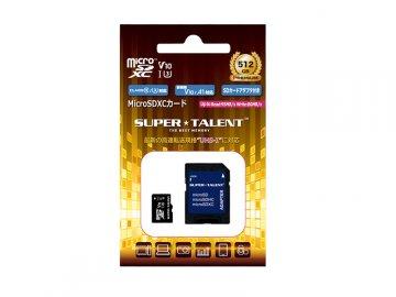 SuperTalent MicroSDXC 512GB ST12MSU1P 01 モバイル フラッシュメモリー MicroSDXC
