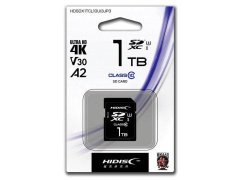 HIDISC SDXC Card 1TB HDSDX1TCL10UIJP3