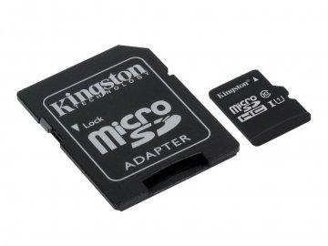 Kingston SDCS/16GB MicroSDHC CARD 16GB 01 モバイル フラッシュメモリー MicroSD
