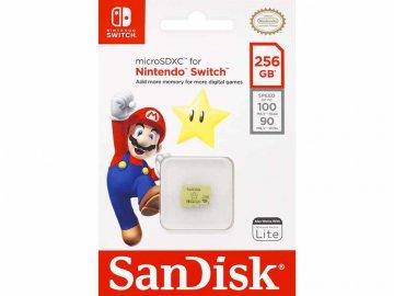 SANDISK MicroSDXC SDSQXAO-256G-GNCZN 01 モバイル フラッシュメモリー MicroSDXC