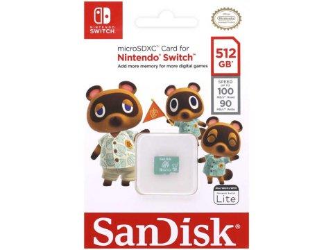 SANDISK MicroSDXC SDSQXAO-512G-GNCZN