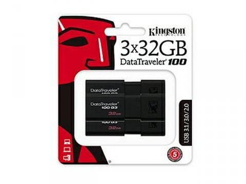Kingston USB Flash DT100G3/32GB-3P