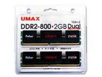 DDR2-800 1GBx2 DCDDR2-2GB-800 両面モデル