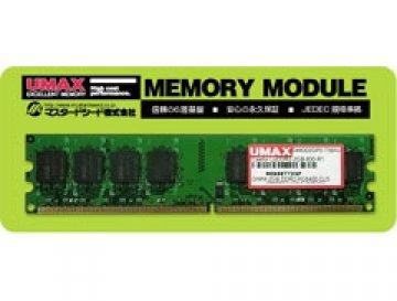 U-MAX PC2-6400 2GB LoDDR2-2GB-800-R1 01 PCパーツ PCメモリー デスクトップ用