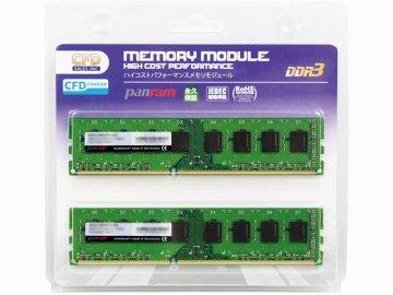 CFD PC3-12800(1600) 8GBx2 W3U1600PS-8G 01 PCパーツ PCメモリー デスクトップ用