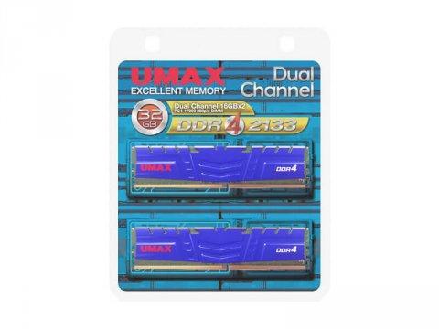 U-MAX DCDDR4-2133-32GB HS DDR4-2133 16x2
