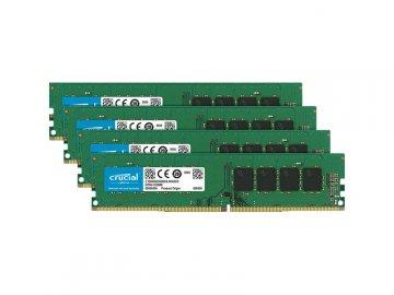 Crucial CT4K16G4DFD824A DDR4-2400 16Gx4 01 PCパーツ PCメモリー デスクトップ用