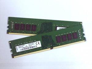 Kingston DDR4 2400 8GBx2枚組 16GB BULK版