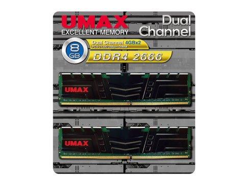 UMAX UM-DDR4D-2666-8GBHS DDR4-2666 4GBx2