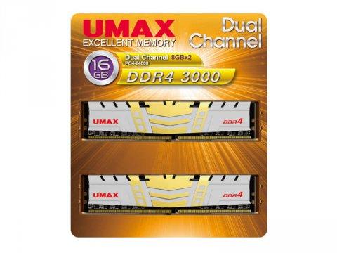 UMAX UM-DDR4D-3000-16GBHS DDR4-3000 8Gx2
