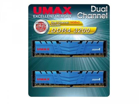 UMAX UM-DDR4D-3200-32GBHS DDR4-3200 16x2