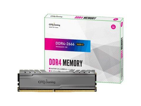CFD W4U2666CX1-16G DDR4-2666 16GBx2