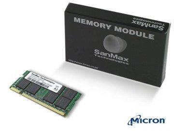 SMD-N2G88CP-6E DDR2SODIMM-667 2GB CL5 MT 01 PCパーツ SanMaxPC用メモリー ノート用