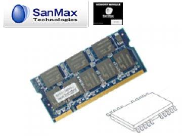 SMD-N1G48I-J SODIMM-333 1GB(64*8) CL2.5 01 PCパーツ SanMaxPC用メモリー ノート用