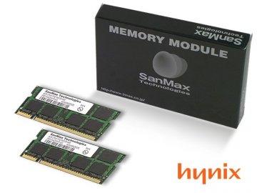 SMD-N2G88HP-6E-D DDR2SODIMM-667 1GB*2SET 01 PCパーツ SanMaxPC用メモリー ノート用