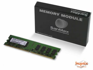 SMD-2G88HP-8E DDR2-800 2GB CL5 hynix 01 PCパーツ SanMaxPC用メモリー デスクトップ用