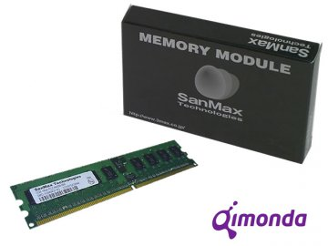 SMD-1G48WIP-6E DDR2-667 RegECC 1GB CL5 01 PCパーツ SanMaxPC用メモリー サーバー用