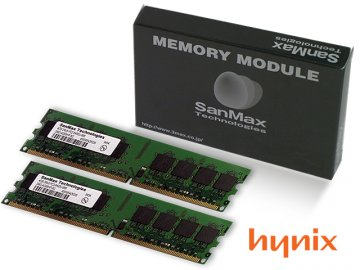 SMD-8G68HP-8G-D DDR2-800 4GBx2 CL6 hynix 01 PCパーツ SanMaxPC用メモリー デスクトップ用
