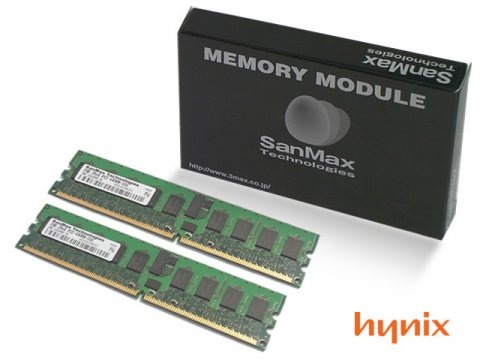 SMD-2G88WHP-6E-D DDR2-667 RegECC 1GBx2