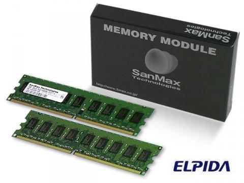SMD-4G88ENP-5C-D DDR2-533 UnbECC 2GB*2 01 PCパーツ SanMaxPC用メモリー サーバー用