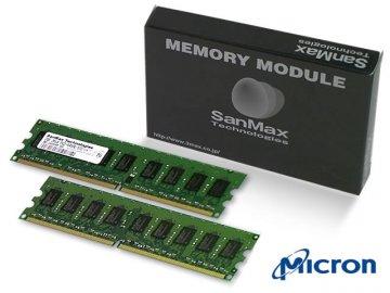 SMD-4G88ECP-8E-D DDR2-800 UnbECC 2GB*2MT 01 PCパーツ SanMaxPC用メモリー サーバー用