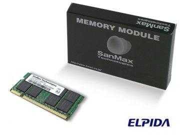 SMD-N2G88NP-8E DDR2SODIMM-800 2GB CL5 01 PCパーツ SanMaxPC用メモリー ノート用