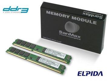 SMD-2G88NVLP-13H-D DDR3-1333 1GBx2 CL9 01 PCパーツ SanMaxPC用メモリー デスクトップ用