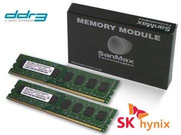 SMD-8G28HP-16K-D DDR3-1600 4GB*2SET hyn 01 PCパーツ SanMaxPC用メモリー デスクトップ用
