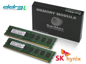 SMD-8G28HP-16KL-D D3L-1600 4GBx2 1.35 hy 01 PCパーツ SanMaxPC用メモリー デスクトップ用