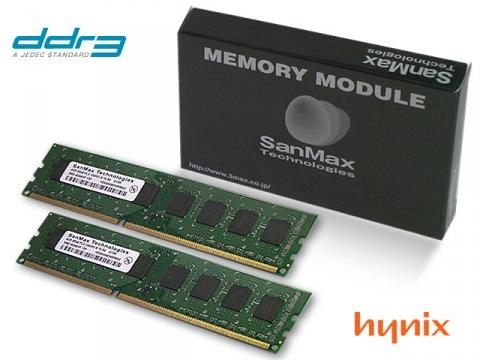 SMD-4G68HP-13H-D DDR3-1333 2GB*2SET hyn 01 PCパーツ SanMaxPC用メモリー デスクトップ用