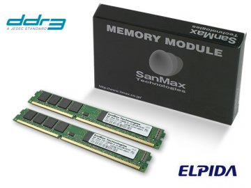 SMD-8G68NVLP-16K-D DDR3-1600 4GBx2 elpid 01 PCパーツ SanMaxPC用メモリー デスクトップ用