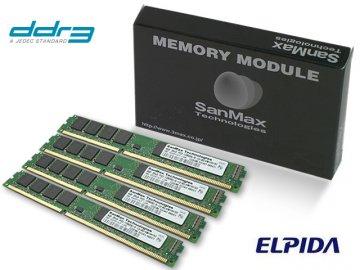 SMD-16G68NVLP-13H-Q DDR3-1333 4GBx4 elp 01 PCパーツ SanMaxPC用メモリー デスクトップ用