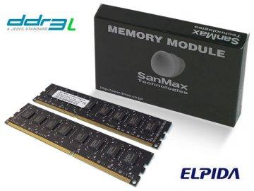 SMD-16G28NP-16KL-D-BK 1600 8GB*2 1.35 el 01 PCパーツ SanMaxPC用メモリー デスクトップ用
