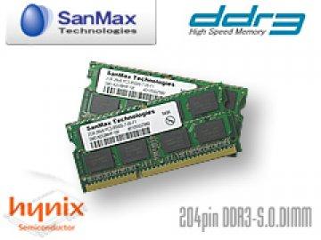 SMD-N4G88HP-13H-D DDR3SO-1333 2GB*2 01 PCパーツ SanMaxPC用メモリー ノート用
