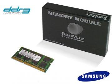 SMD-N4G68SP-10F DDR3SODIMM-1066 4GB SEC 01 PCパーツ SanMaxPC用メモリー ノート用