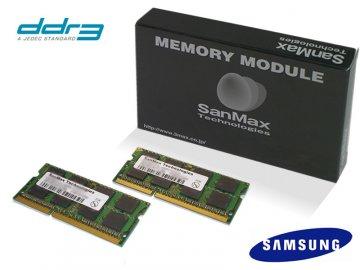 SMD-N8G68SP-13H-D DR3SODIMM-1333 4GBx2 01 PCパーツ SanMaxPC用メモリー ノート用