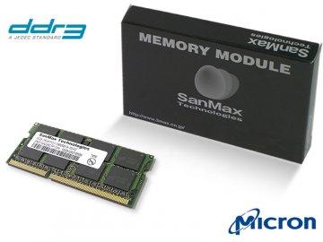 SMD-N2G88CP-13H DDR3SO-1333 2GB 1.5v MT 01 PCパーツ SanMaxPC用メモリー ノート用