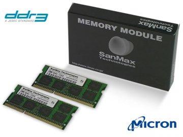 SMD-N8G68CP-13H-D DDR3SODIMM-1333 4GB*2 01 PCパーツ SanMaxPC用メモリー ノート用