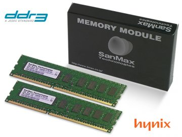 SMD-8G68EHP-16K-D DDR3-1600 4GBx2 UnbECC 01 PCパーツ SanMaxPC用メモリー サーバー用