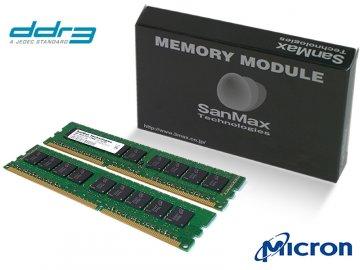 SMD-16G28ECP-13H-D DDR3-1333 8GBx2 U-ECC 01 PCパーツ SanMaxPC用メモリー サーバー用