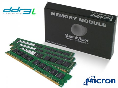 SMD-32G28ECP-16KL-Q DDR3L-1600 8GBx4 ECC 01 PCパーツ SanMaxPC用メモリー サーバー用