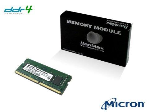 SMD4-S8G48M-21P D4-SO 2133 8Gx1 C15 MT 01 PCパーツ SanMaxPC用メモリー ノート用
