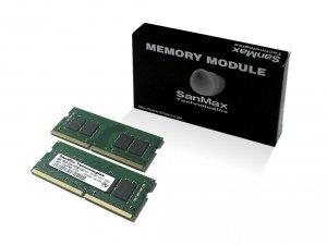 SMD4-S16G48M-21P-D  ノート用 DDR4 16GB(8GBx2枚組) 1RANK デュアルセット